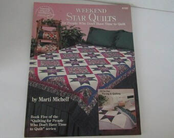 American School of Needlework Leaflet #4160 Weekend Star Quilts ...