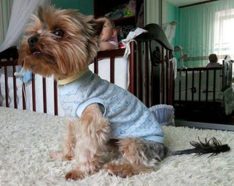 Small Shirt for Dog Top Dog Clothes Dog Clothing Dog Accessories for Pet Accessories for Dog Outfit Shirt for Cat Clothing