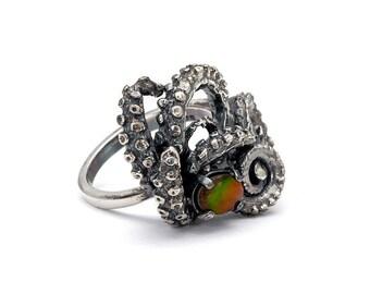 Ammonite Tentacle Ring III