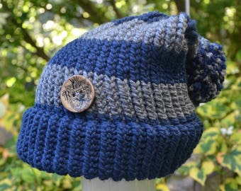 Harry Potter/Ravenclaw/Adult Slouchy Knit Hat