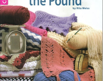 Afghans By the Pound ~  Crochet Book  ~ New