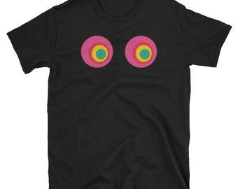 LGBT Gay Pride Boobs Love Is Love 2018 T-Shirt Shirt