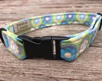 "Handmade Dog Collar - ""Springtime"""