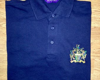 XXL WCIT men's Polo Shirt with embroidered Livery Company coat of arms