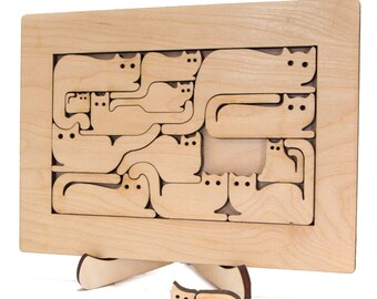 Puzzle Art Cats