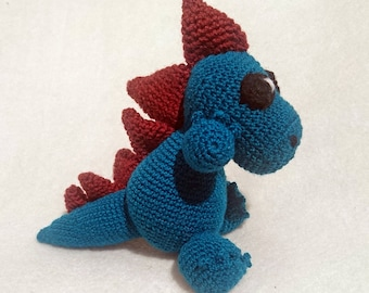 Drake Amigurumi Crochet Plush