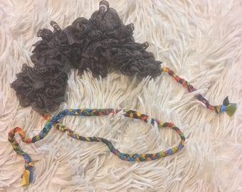 Lace Flower Crown Headband