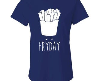 FRYDAY - Ladies Babydoll T-shirt