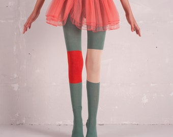Funky Legs Cotton Tights -FL50 for baby girls and girls