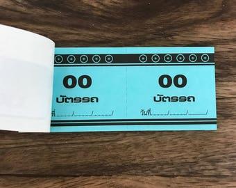 Thai numbered ticket 100 Tickets 00-99