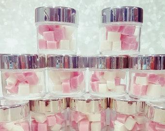 Cranberry & Vanilla Sugar Scrub Cubes