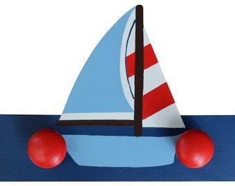 Wooden Nautical Sailing Boat Hooks/Hangers