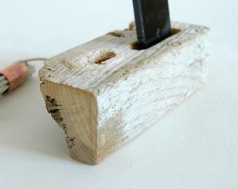 On Sale! Docking Station, iPhone Charger, iPhone Charging Station, driftwood iphone dock, wood iPhone dock/ Driftwood - No. 283