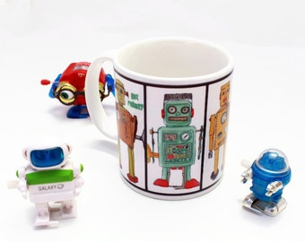 Got Robots Coffee Mug Science Geek Nerd Maker Gift Idea