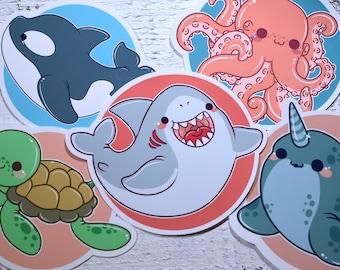 Kawaii Ocean Cutie Stickers