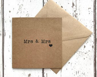 LGBT, gay husband, wedding card, mr and mr card, mrs and mrs card,  mr and mrs card, gay wedding, quirky wedding, greetings card, mr and mrs