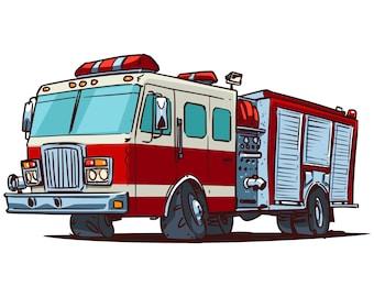 firetruck clipart etsy rh etsy com fire engine clipart free fire truck clipart images