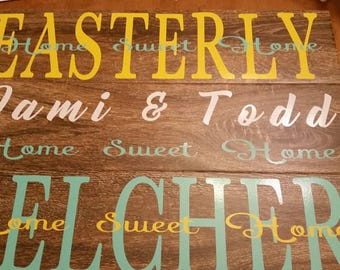 6x24 Wood grain tile for Valentine gifts
