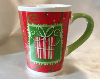 Coffee Mug, Christmas Mug, Christmas Eve Mug Mother's Gift, Sister Gift for Aunt Teacher Gift For Him, Coffee Cup, Christmas Cup, Santa Mug,