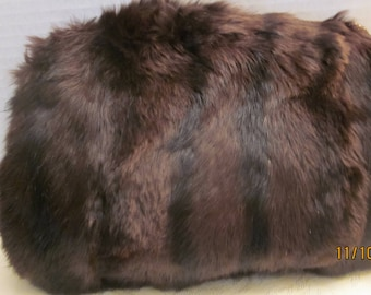 Vintage Fur Muff, Vintage Clothes Sale, priced to sell