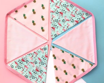 Flamingo and Pineapple Bunting