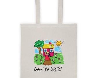 Goin' to Gigi's!  Tote bag