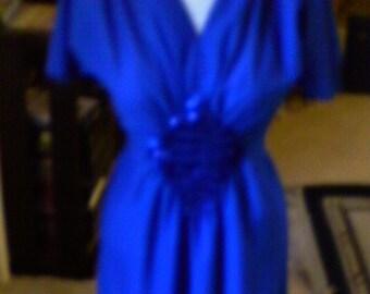 Blue Dress......