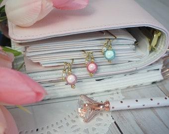 Moonlight magic pearl paperclips