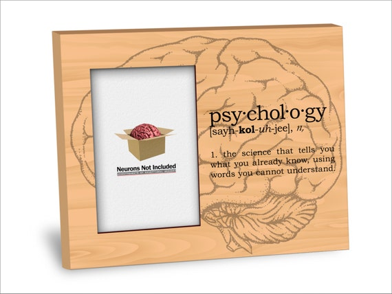 Psychology Definition Picture Frame Personalization
