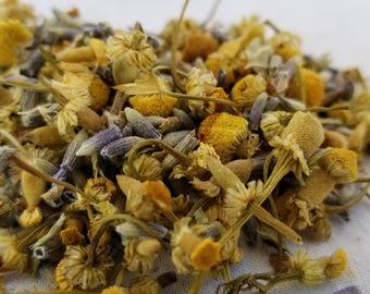 Organic Loose Leaf Tea - Lavender Tea Chamomile Tea Sleep - Herbal Teas - Organic Herbal Tea - Catnip tea - Tea For Anxiety - Calming Tea