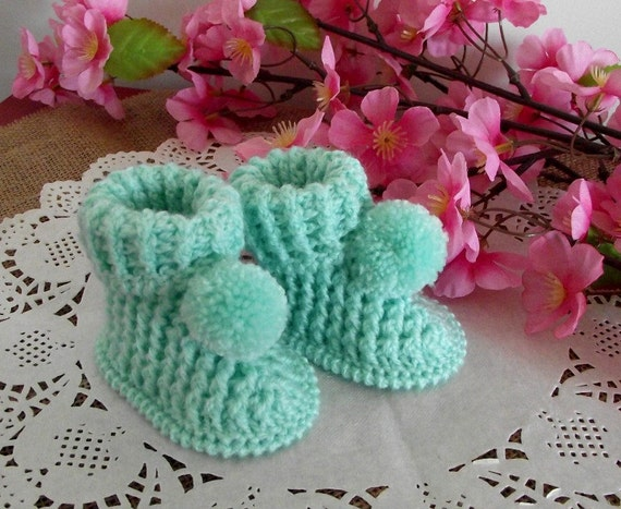 Crochet Baby Booties Pattern - Lucerito Baby crochet Shoes Pattern ...