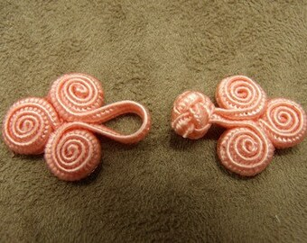 Brandenburg button - pink