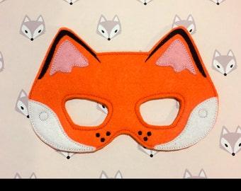 Fox Felt Mask