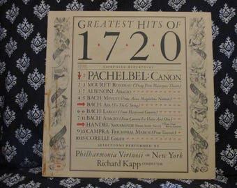 Greatest Hits of 1720 Record LP Album