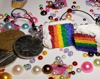 Pride Cake Charm/Zipper Pull