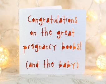 new baby card, funny pregnancy card, new mom card, sarcastic baby card, labor card, card for new mom, baby shower card, new parents card