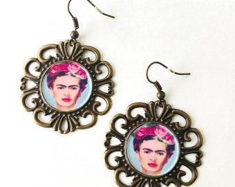 Handcrafted Frida Earrings