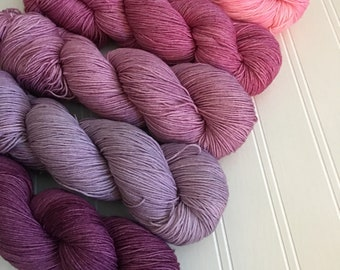 Pink Gradient Full Skein Set
