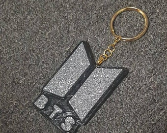 Customise your own BTS Bangtan Boys Keychain Combo