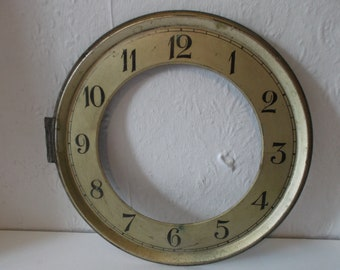 Antique French Metal Clock Face