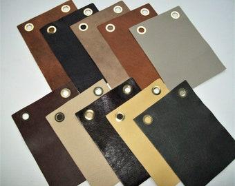 grainy leather 10pk 6x8