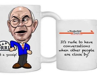 Classic Corrie inspired mug featuring Norris Cole