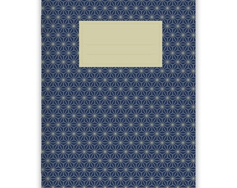 Notebook Stapled A5 Japanese Pattern No. 1