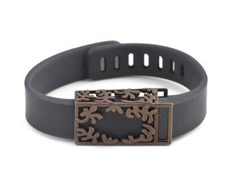 Fitbit Flex bronze Matisse slide accessory •ON SALE!