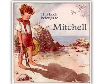 My Shadow - Personalized Bookplates -  Great for Photo albums, Scrapbooks, Baby Books