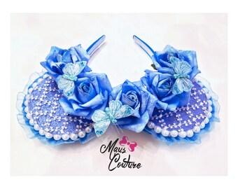 Cinderella Floral Crown Minnie Ears