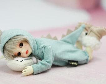 Miyoni Lati Yellow SP, Luts Tiny Delf 20, 18~20cm doll, Baby Dinosaur Bodysuit BJD clothes