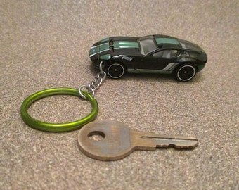 Ford Shelby GR-1 keychain, Concept Sports Car, V10 engine,llavero Keychain, Mens or Womens keychain, Mens or Womens gift Stocking