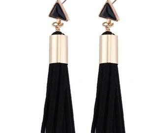 Queen Tassel Earrings