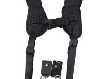 Camera Sling, Double Sling, Photography Accessories, Dual Camera Sling, Camera Neck Support